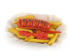 Odenwälder Currywurst mit Pommes aus Marzipan 150g