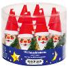 Riegelein Weihnachtsmann mit Mütze aus Vollmilch-Schokolade 3 x 14