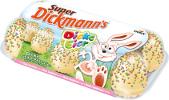 Dickmann 8 Dicke Eier, weiss mit bunten Reis-Crisps 206g
