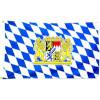 Fahne Bavaria 90cmx150cm
