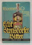 Plakat Stonsdorfer  21x29cm