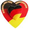 Fussball-Fan Herz mit Blinkfunktion