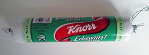 Knorr Erbswurst grün mit Speck 135g