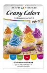 Braun Heitmann Crazy Colors Lebensmittelfarben Pulver 6er x 4g