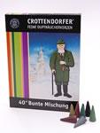 Crottendorfer Räucherkerzchen, 3 Düfte, 40er