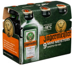 Jägermeister 9 Mini Meister Shots-to-go Alk. 35% vol 9 x 0,02L
