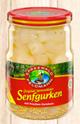 Spreewald Feldmann Senfgurken mit frischen Zwiebeln 790g/490g