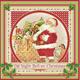 Duni Weihnachtsservietten Vintage Santa 20 Stk. (33cm x 33cm)