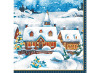 Duni Weihnachtsservietten Winter Village 20 Stück 33 x 33cm
