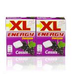 XL Energy Dextrose Mini Tabletten Traubenzucker mit Cassis 2er x 50g