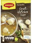 Maggi Griessklösschen Suppe 3 Teller für 750ml