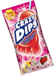 Chupa Chups Crazy Dips Strawberry 14g
