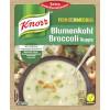Knorr Feinschmecker Blumenkohl Broccoli Suppe 48g für 2 Teller