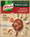 Knorr Natürlich Lecker Pikantes Gulasch 63g für 3 Portionen