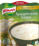 Knorr Feinschmecker Spargelcreme Suppe 2 Teller