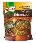 Knorr Grossmutters Geheimnis Deftiger Erbsentopf mit Speck (2 Teller)