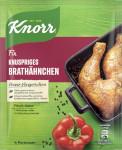 Knorr Fix Für Knuspriges Brathänchen 29g pour 4 Portionen